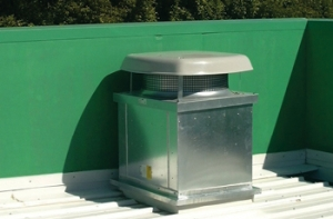 Noise attenuators for HVAC ducts and fan noise control